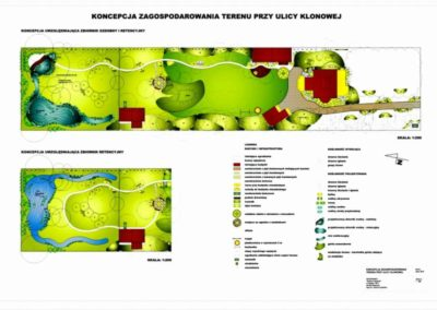 Projekt ogrodu przy domu jednorodzinnym o pow. 5600m2