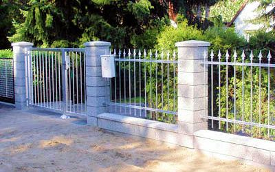 Mury, płoty i ogrodzenia